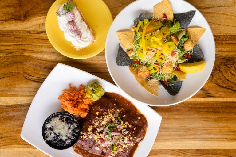 Medley of Tower Cafe Dishes